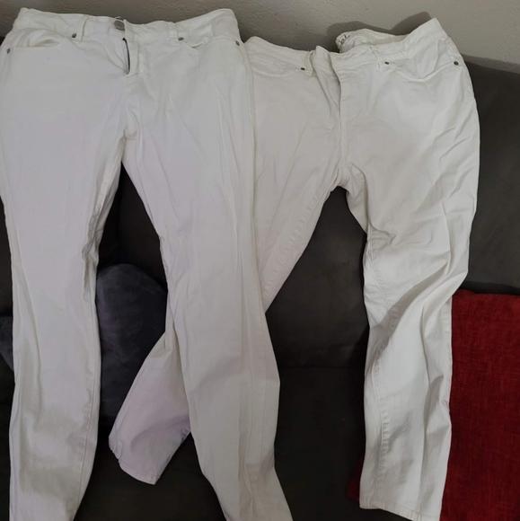 Bundle 2 white jeans